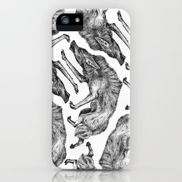 Wild Hair iPhone Case