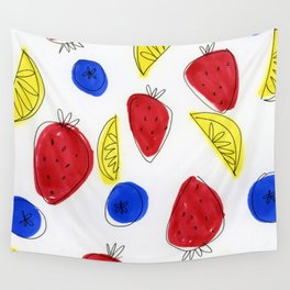 Mixed Fruit Wall Tapestry