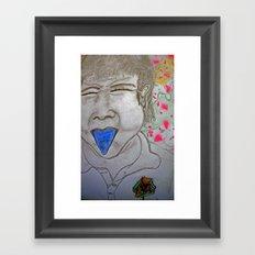 lollypop drug highly addictive Framed Art Print