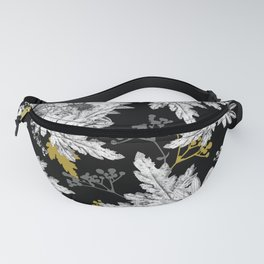 Stippled Daisies Fanny Pack