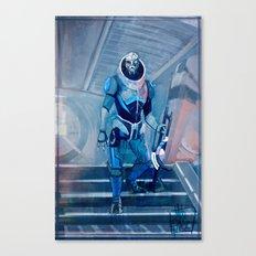 Garrus Canvas Print