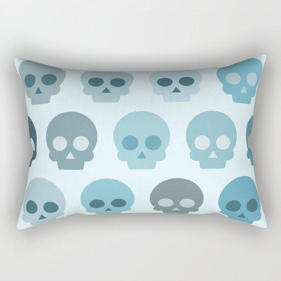 Colorful Skull Cute Pattern II Rectangular Pillow
