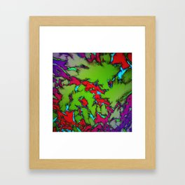 Enclosed gardens Framed Art Print