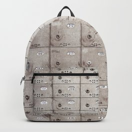 Chests with numbers Backpack
