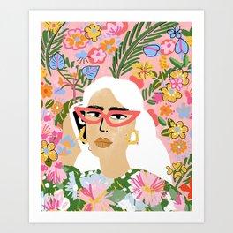 Fashion Is Calling Me Art Print