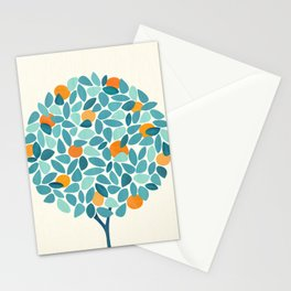 Tropical Mango Tree Stationery Cards