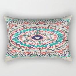 Pin Wheel Mandala Rectangular Pillow