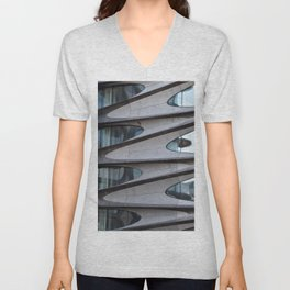 Concrete Jungle Waves Unisex V-Neck