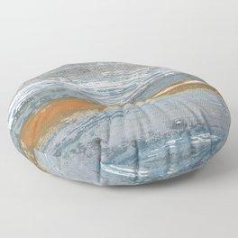 Gray lines Floor Pillow