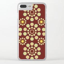 Zenyatta Orb inspired pattern Clear iPhone Case