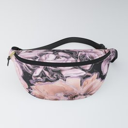 Bold Floral Lilac Fanny Pack