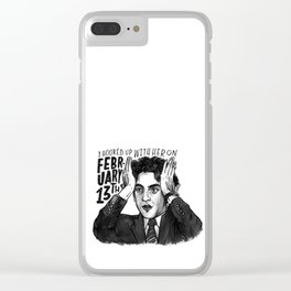 Ryan | Office Clear iPhone Case