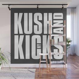 Kush and Kicks Block Stack Wall Mural