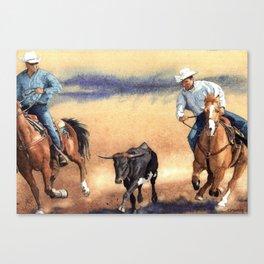 On the Hoof Canvas Print