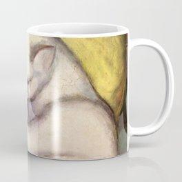 """Franz Marc """"Kater auf gelbem Kissen"""" Coffee Mug"""