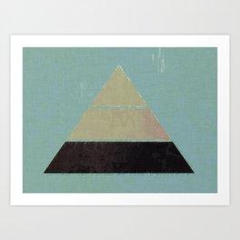Concept Pyramid Art Print