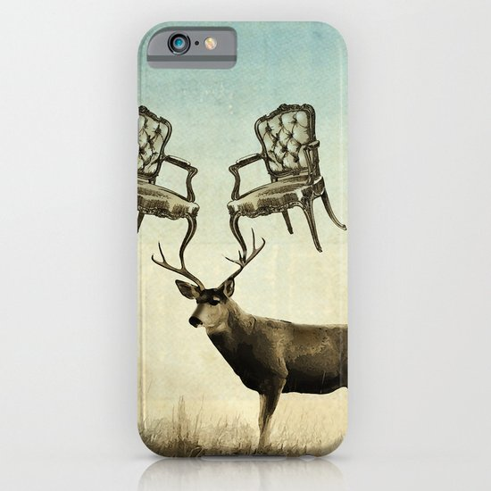 louis xv stag chairs iPhone & iPod Case