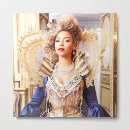 Queen Bey Metal Print