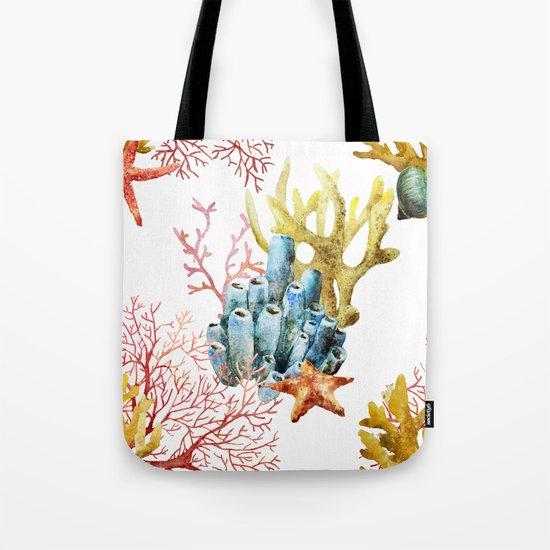 Sea Life Pattern 11 Tote Bag