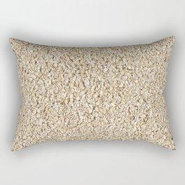 Oat. Background. Rectangular Pillow
