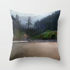 Day Old Blues Throw Pillow