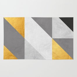 Gold Composition II Rug