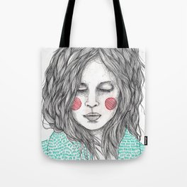 Llopx Girl Tote Bag