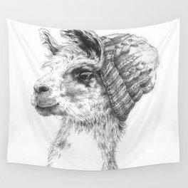 Wooly Llama Wall Tapestry