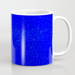 Blue Fleck Background Coffee Mug