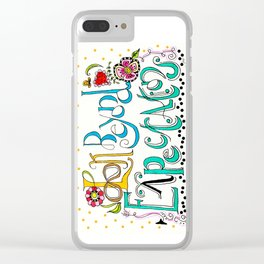 Look Beyond Clear iPhone Case