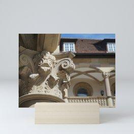 Altes Schloss Stuttgart - Innenhof Mini Art Print
