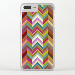 Wavelength Wonder Clear iPhone Case