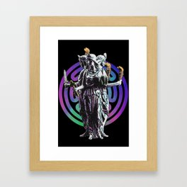 Hecate - Stained Glass Framed Art Print