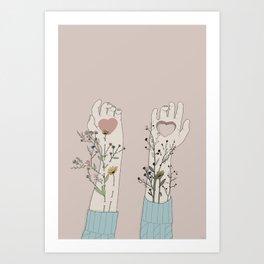 """Mi prenderó cura di te..."" Art Print"