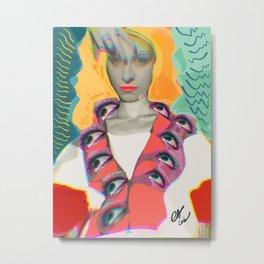Surrealist Mystic Collage Vector Art Dora Maar Metal Print