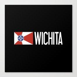 Wichita: Wichitan Flag & Wichita Canvas Print
