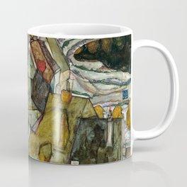 "Egon Schiele ""Crescent of Houses II (Island Town)"" Coffee Mug"