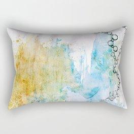 Breaking Boundaries Rectangular Pillow