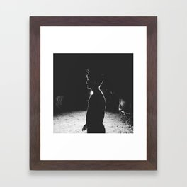 rim light Framed Art Print
