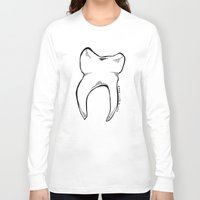 tooth Long Sleeve T-shirts featuring Tooth by Addison Karl