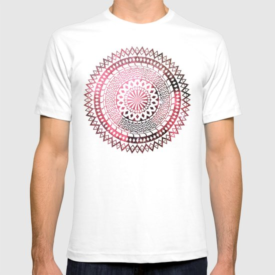 Nebula Snake Mandala T-shirt