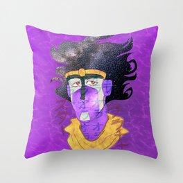 スター・プラチナ Throw Pillow