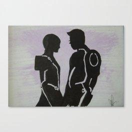 Tron I Canvas Print