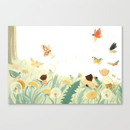 The Butterfly Field by Emily Winfield Martin Canvas Print