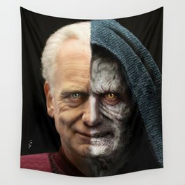 Palpatine&Sidious Wall Tapestry