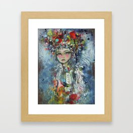 Reflect The Magic Framed Art Print