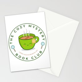 The Cozy Mystery Book Club Stationery Cards