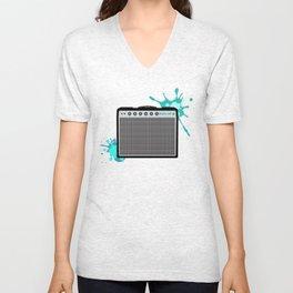 Reverb Electric Amplifier Unisex V-Neck