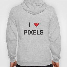 I heart Pixels Hoody