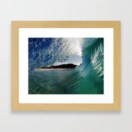 Classic exit Framed Art Print